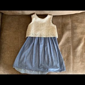 4 sleeveless Dresses from gap/old navy